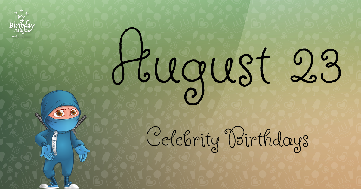 Celebrity birthdays for may 29
