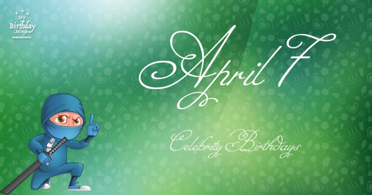 Celebrity birthdays for the week of April 7-13 | WTOP