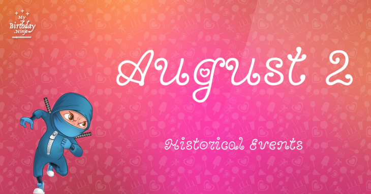 August 2 Birthday Events Poster