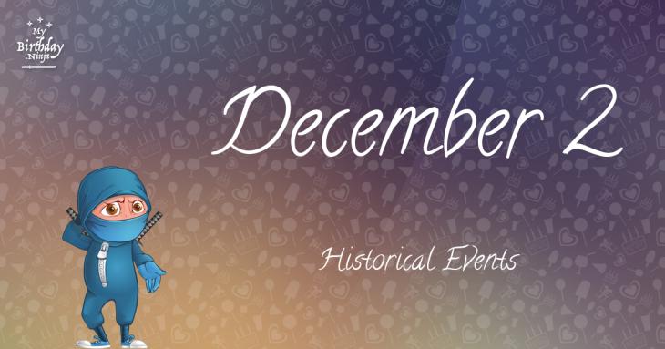 December 2 Birthday Events Poster