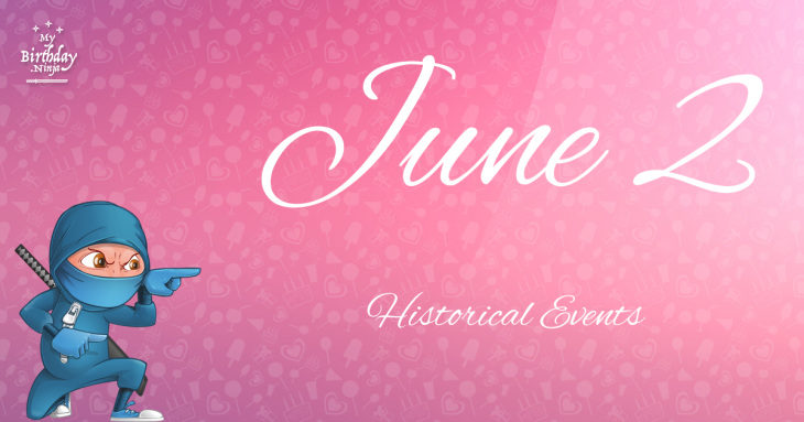 June 2 Birthday Events Poster