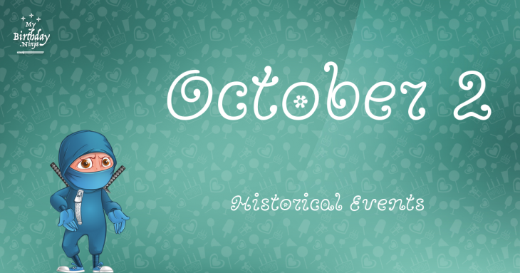 October 2 Birthday Events Poster