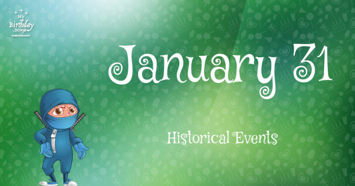 January 31 Birthday Events Poster