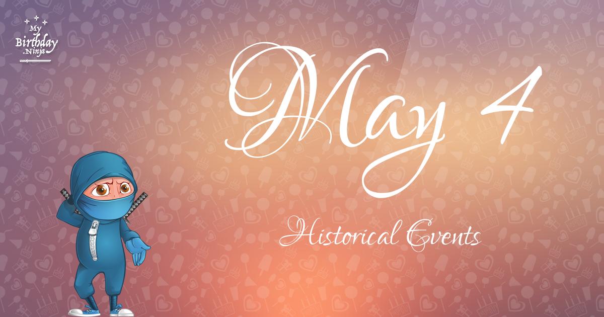 May 4 Events Birthday Ninja Poster