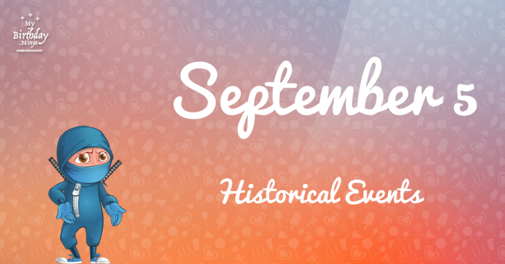 September 5 Birthday Events Poster