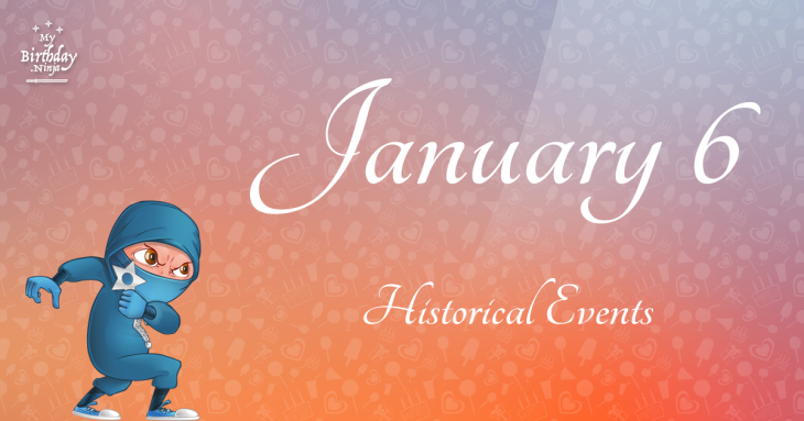 January 6 Birthday Events Poster