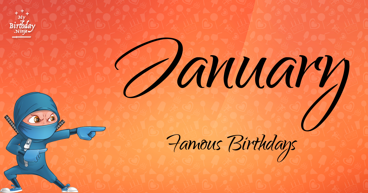 Today's top celebrity birthdays list for January 17, 2019 ...