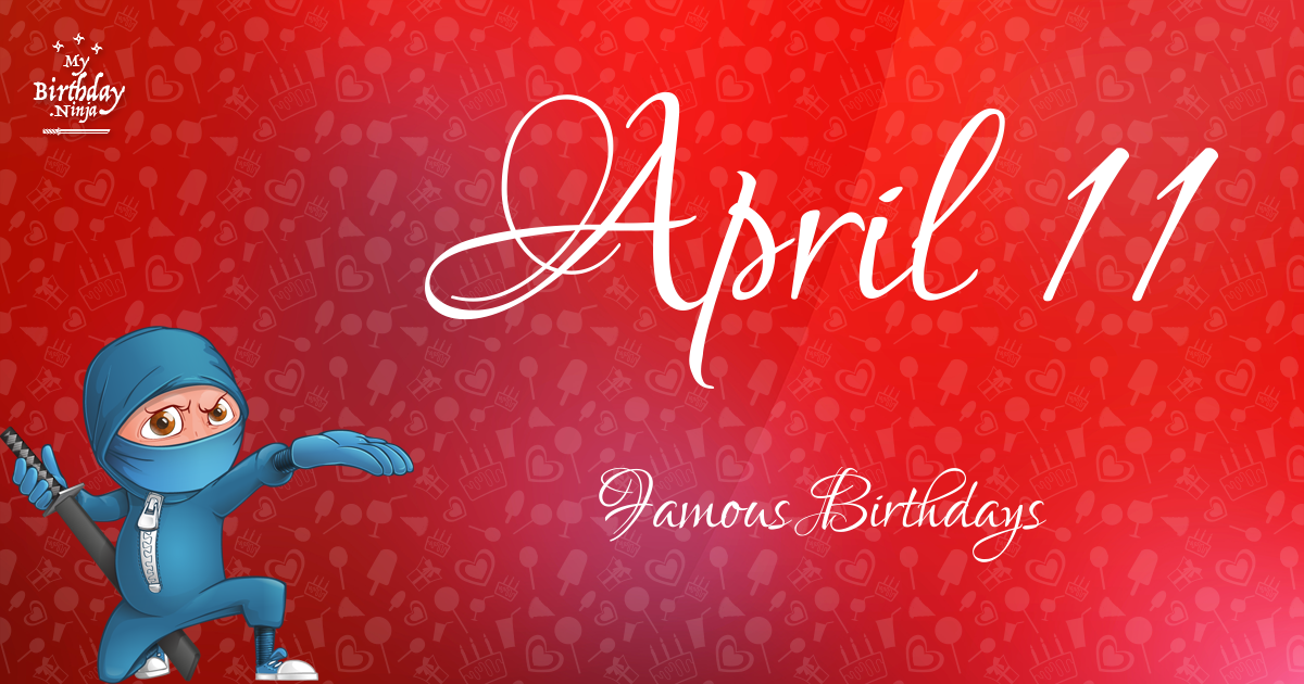Celebrity birthdays for the week of April 14-20 - Houston ...