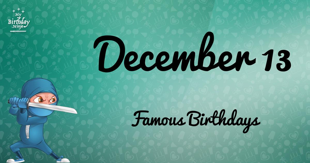 December Birthdays | Famous Birthdays