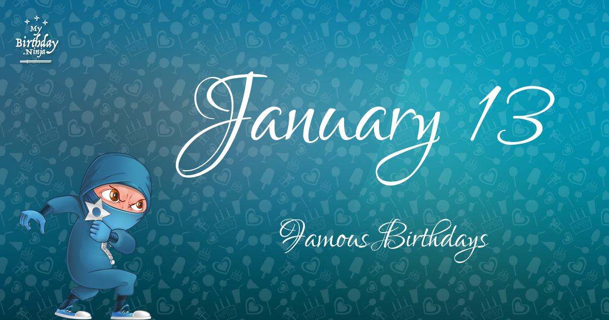 January Birthdays | Famous Birthdays