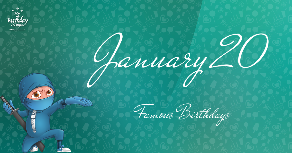 January 31 Famous Birthdays list - Holiday calendar