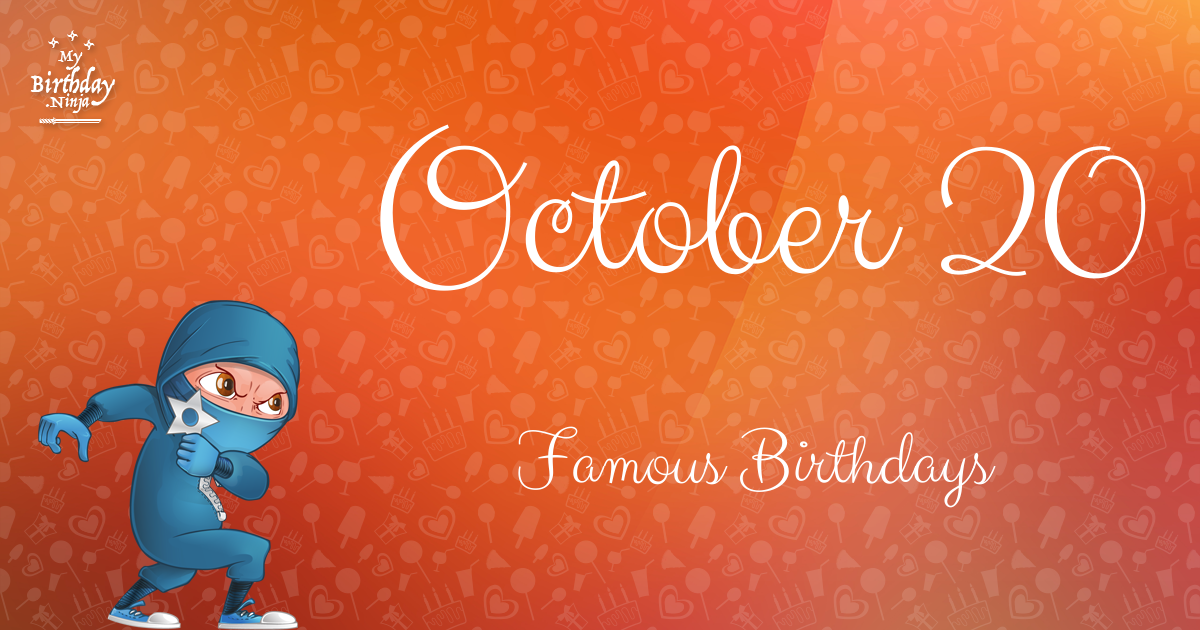 October Celebrity Birthdays | Fandango