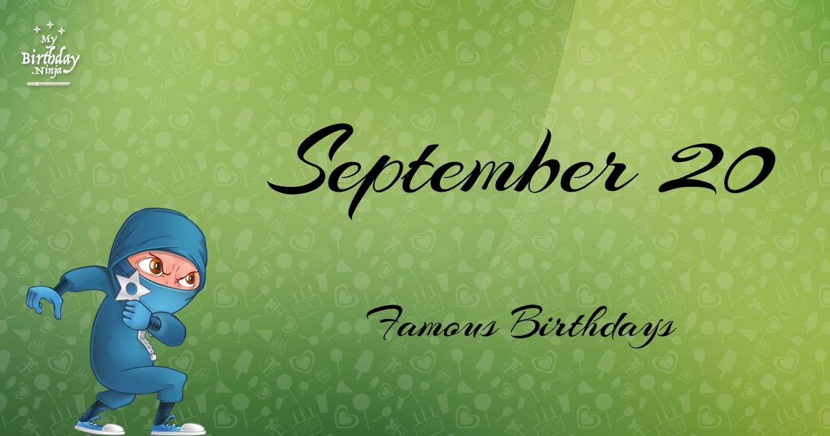 Celebrity birthdays on september 3rd
