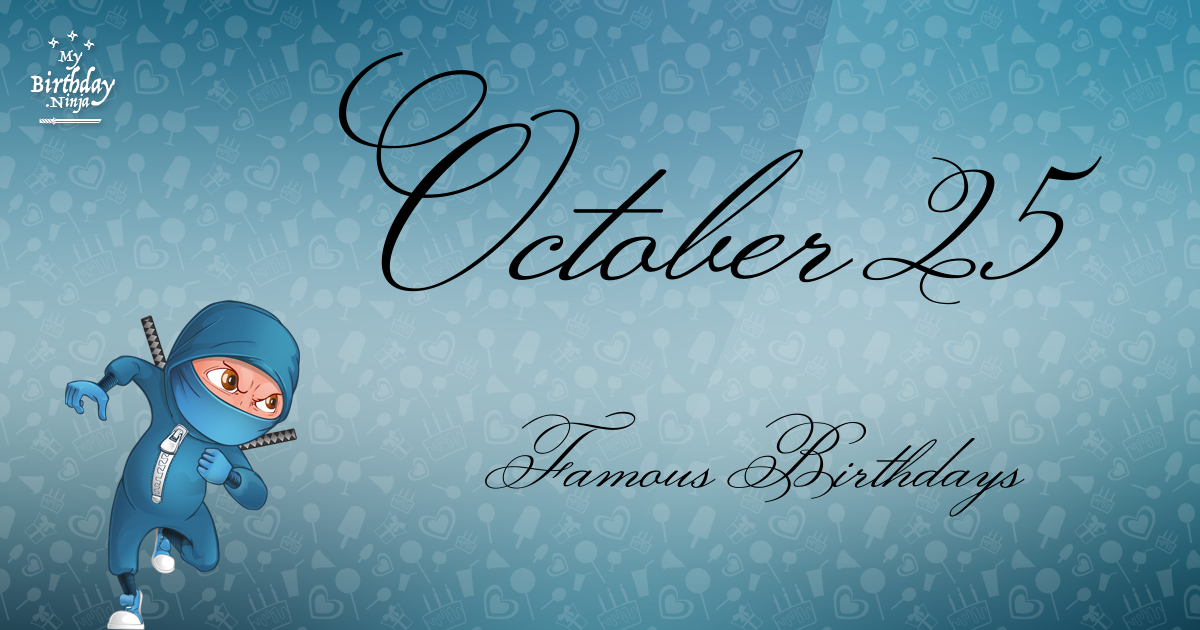 Famous People's Birthdays, October 14, Japan Celebrity ...