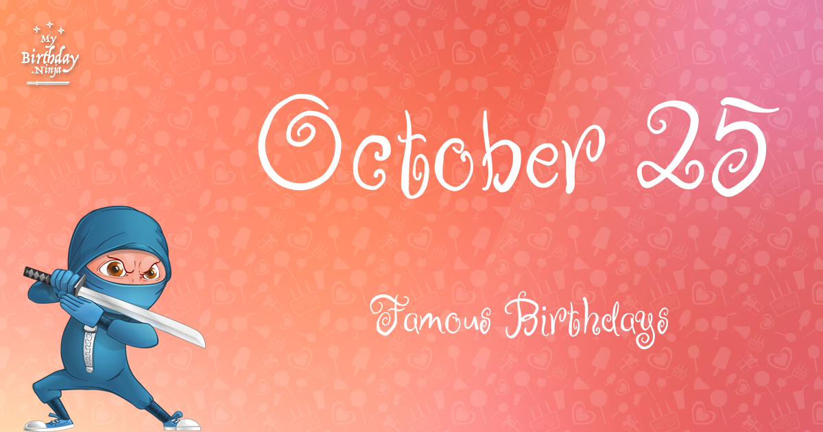 Famous Celebrity birthdays in October 27 | CelebNest