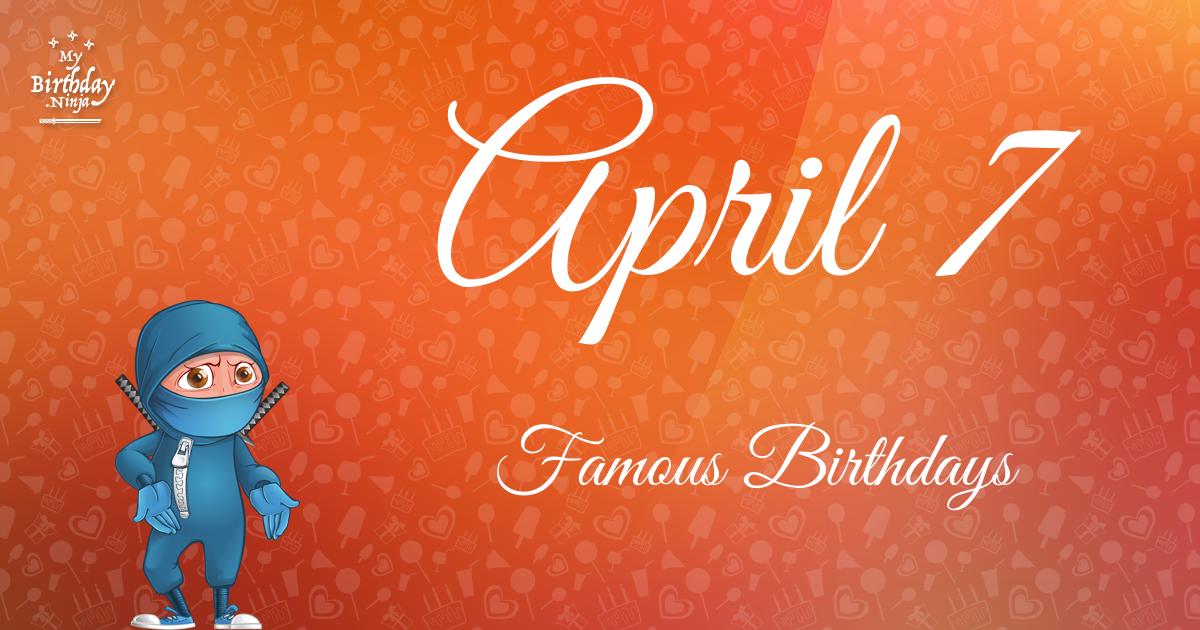 Celebrity birthdays for the week of April 7-13 - kytvnews.com