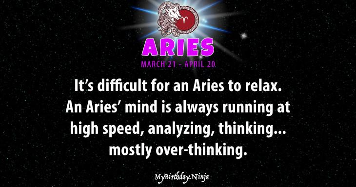Aries Personality #cu46