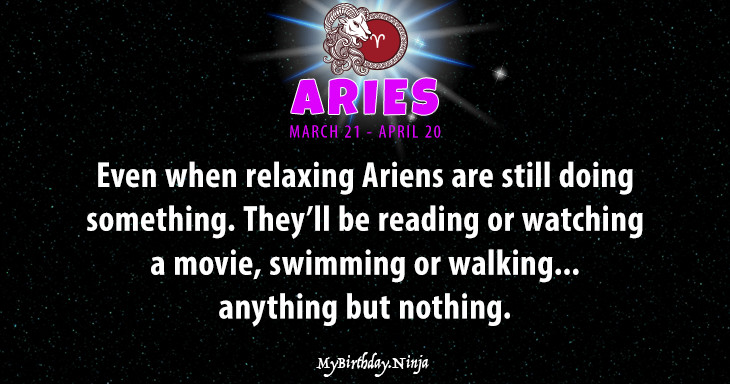 Aries Personality #xs33