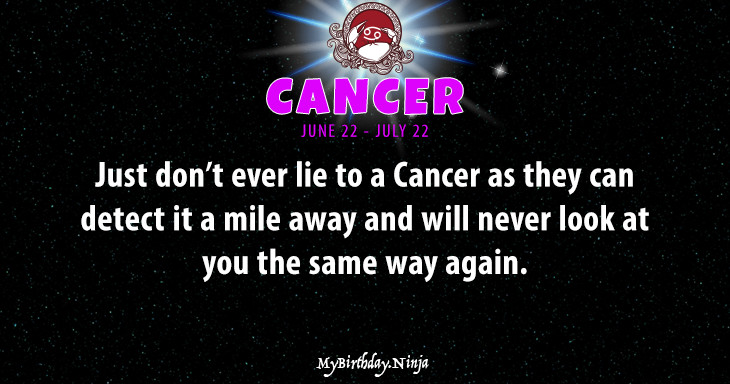Cancer Personality #agt2