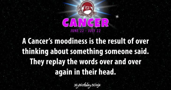 Cancer Personality #b3ak