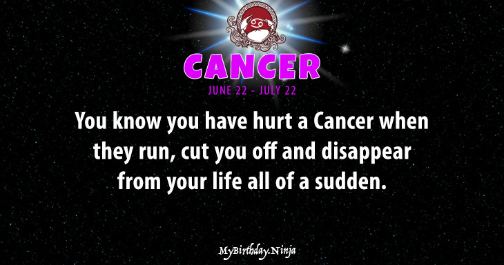 Cancer Personality #bv9z