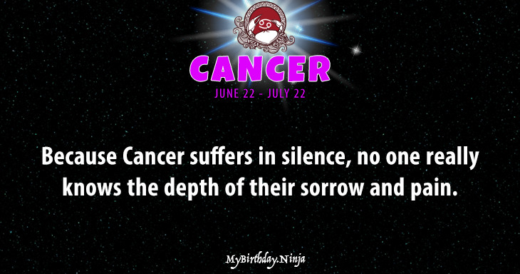 Cancer Personality #pa53