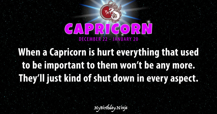 Capricorn Personality #4h6n