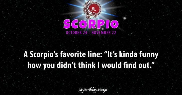 Scorpio Personality #9deu