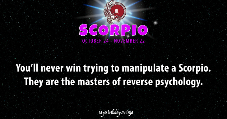 Scorpio Personality #wq3j