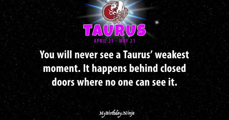 Taurus Personality #adl9