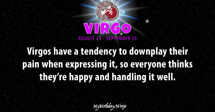 Virgo Personality #6pfx