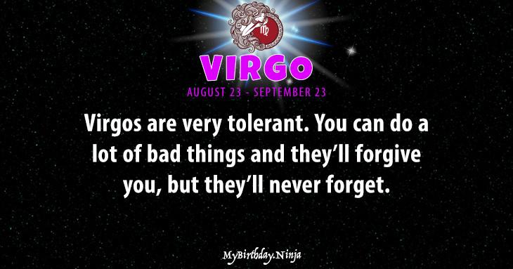 Virgo Personality #wkb4