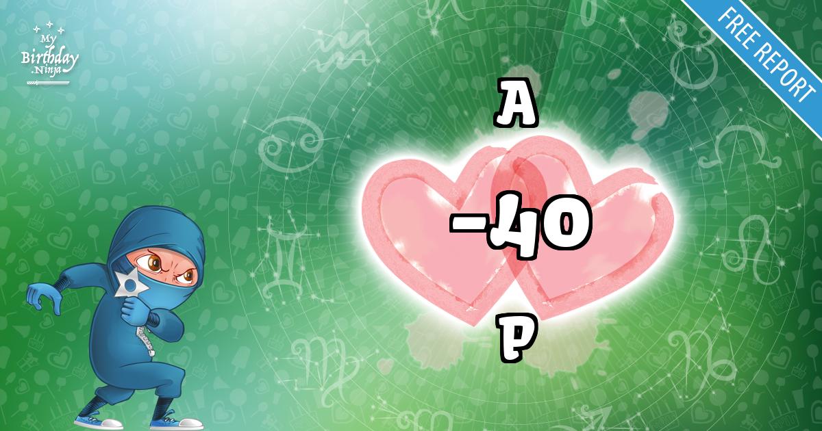 A and P Love Match Score
