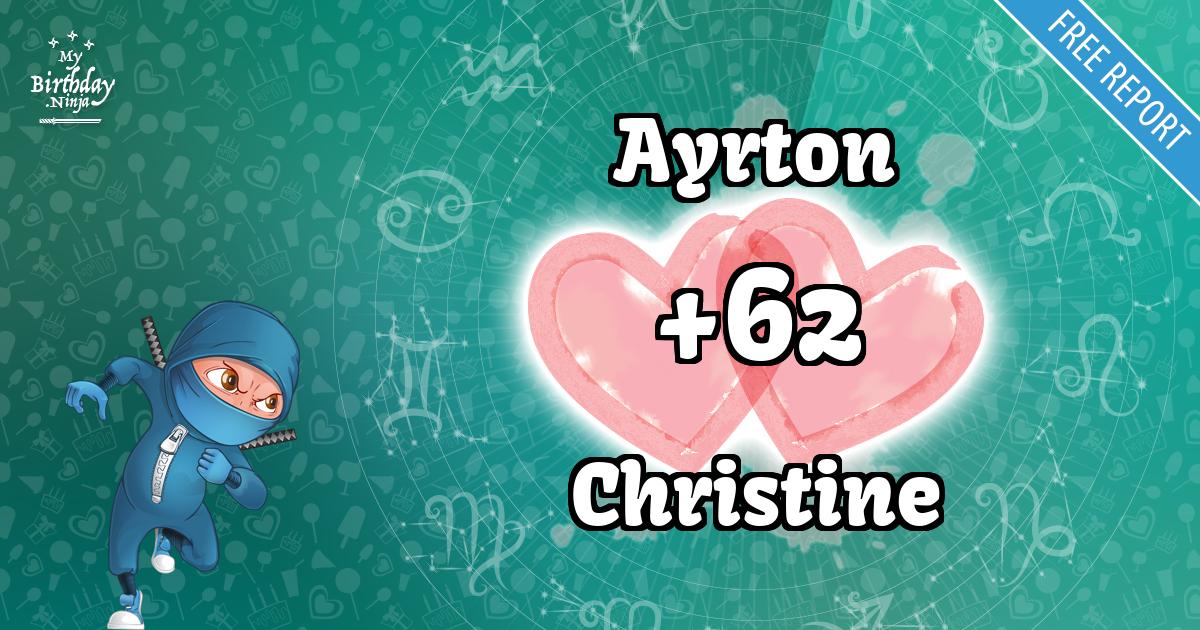 Ayrton and Christine Love Match Score