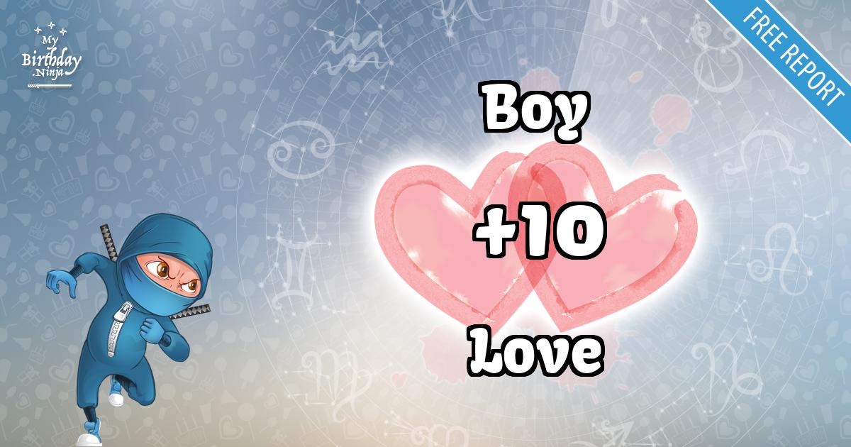 Boy and Love Love Match Score