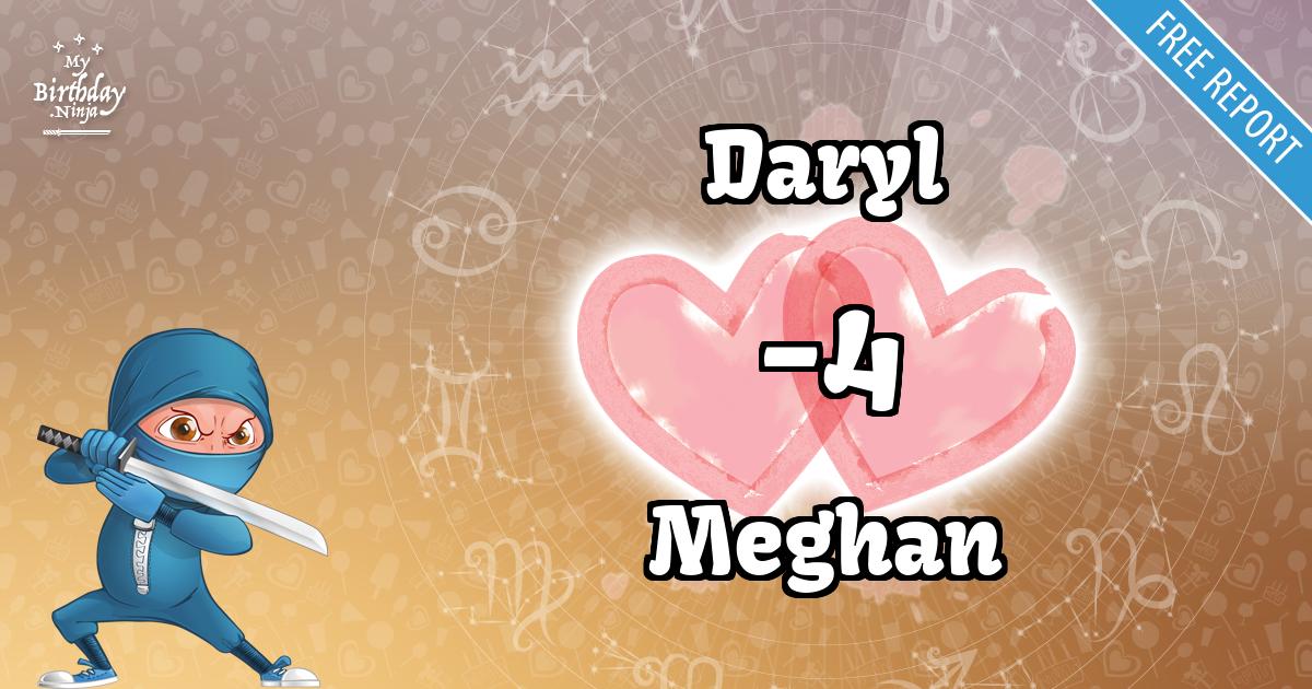 Daryl and Meghan Love Match Score