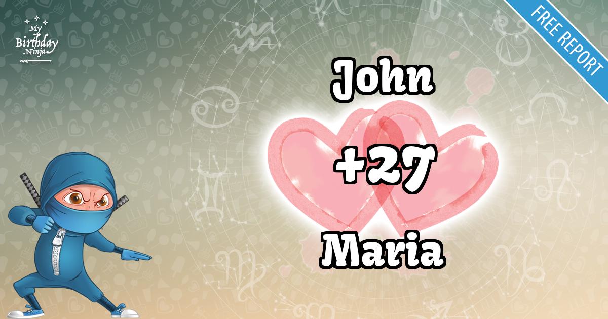 John and Maria Love Match Score