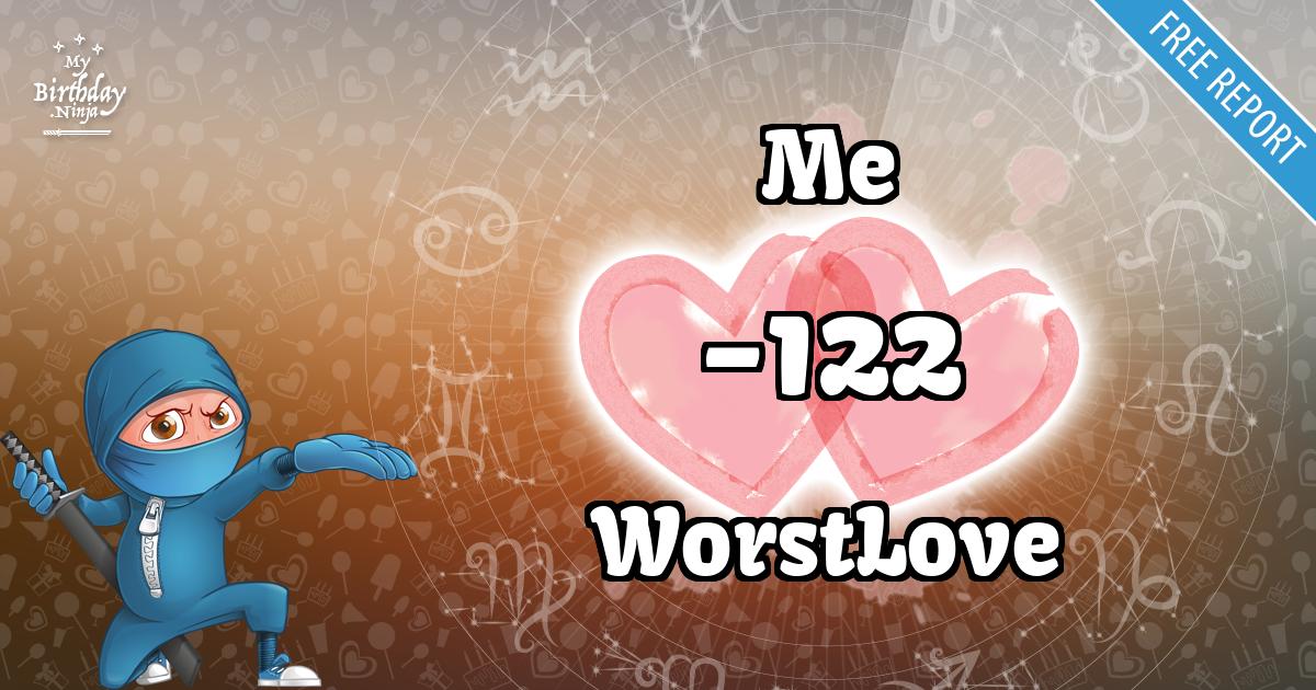 Me and WorstLove Love Match Score