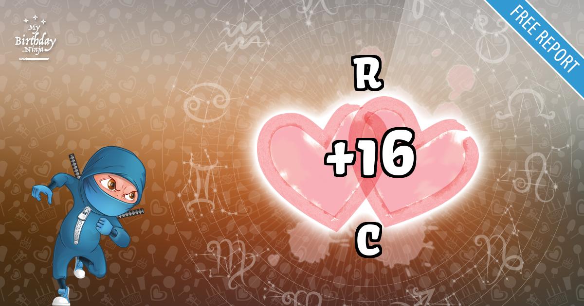 R and C Love Match Score