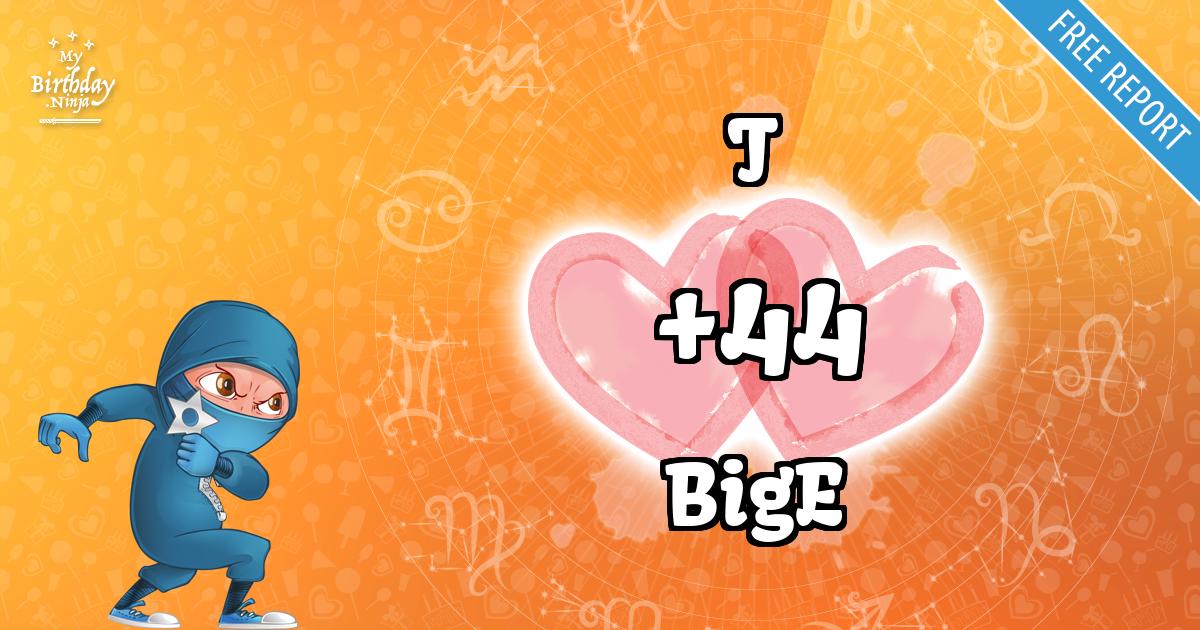 T and BigE Love Match Score